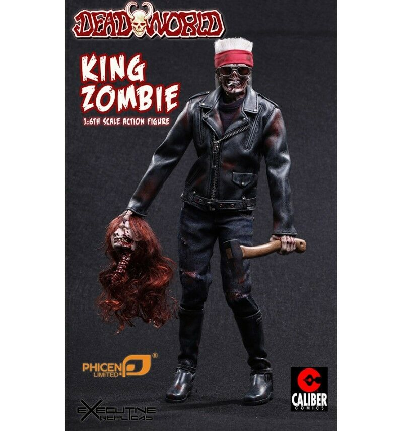 Phicen Dead World re Zombie 1  6th Scala azione cifra  supporto al dettaglio all'ingrosso