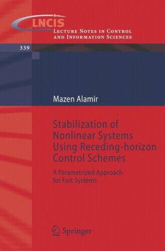 Stabilization of Nonlinear Systems Using Receding-Horizon Control Schemes