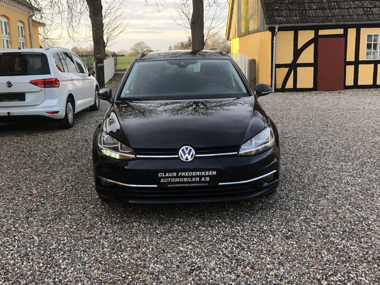 VW Golf VII 1,6 TDi 115 Comfortl. Variant DSG 5d - 199.900 kr.