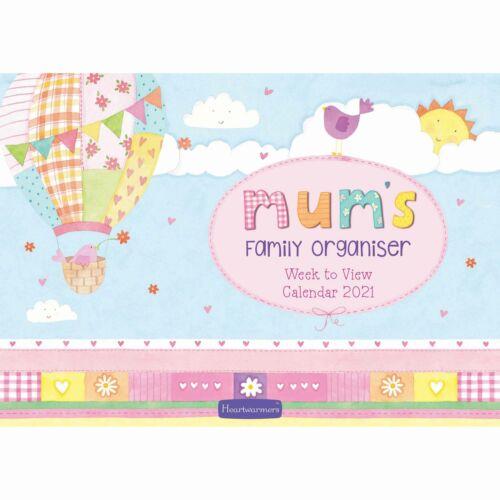 Mum/'s A4 Family Planner 2021