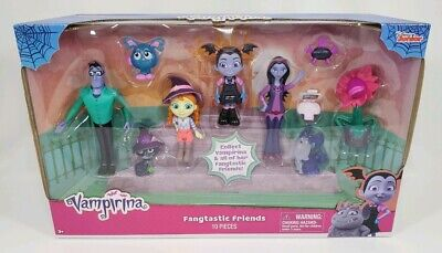 Vampirina Fangtastic Friends Figures Set 10 Pieces /_ Just Play New in the box