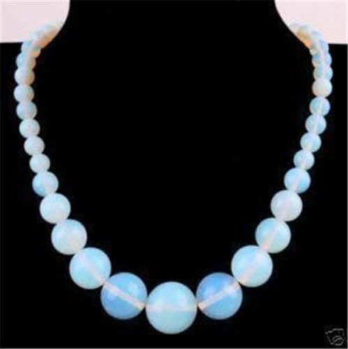 """New 6-14 Natural Opal Round Gemstone Beads Necklace 18/""""AAA+"""