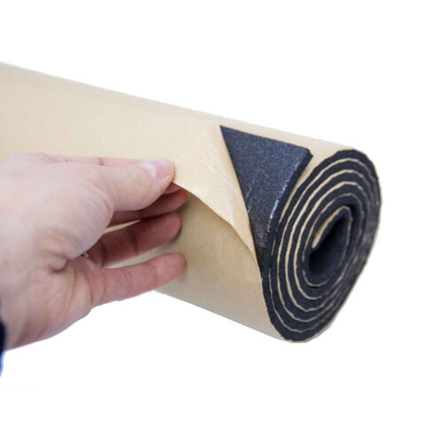 2Roll 10mm Car Motor Sound Proofing Deadening Insulation Close Cell Foam Noise