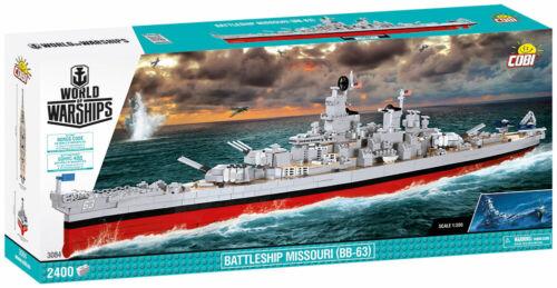 nuevo Cobi 3084-World of warships-battleship Missouri bb-63