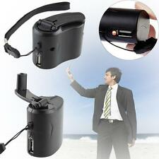 Useful Hand Crank USB Cell Phone Emergency Charger USB Hand-cranked Generator MT