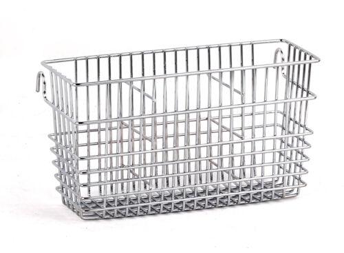 Chrome Plated Steel Sturdy Utensil Drying Rack Basket Holder