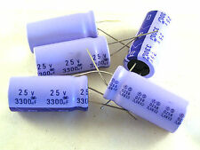 Dubilier Electrolytic Capacitor 25v 3300uF  (M) 85'C 5 pieces OL0007