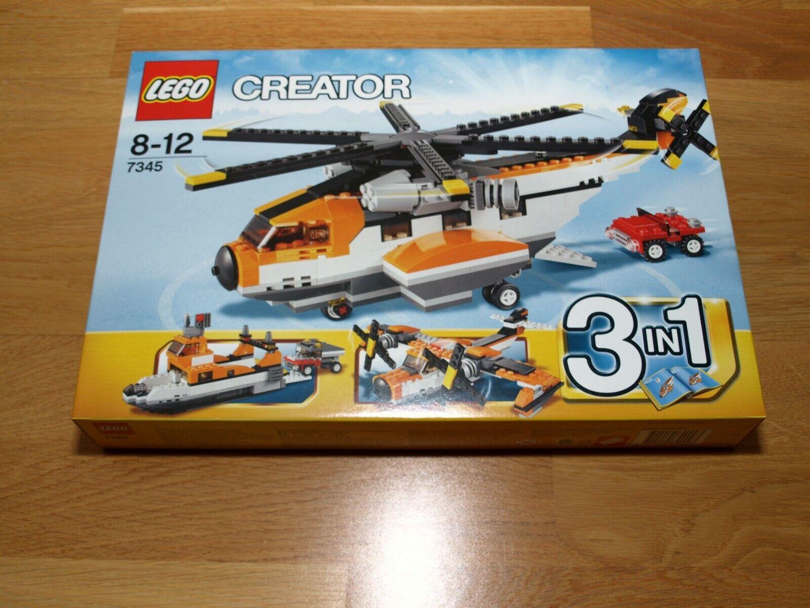 Lego Creator – Transport Chopper Set 7345 – BNISB