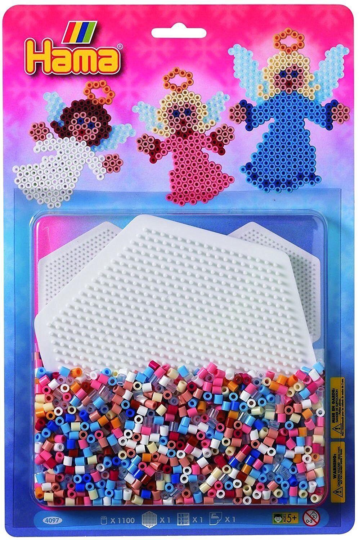 Bügelbilder Hama Midi Bügelperlen große Aufbewahrungsbox 6751 Steckperlen Perlen Sortierbox