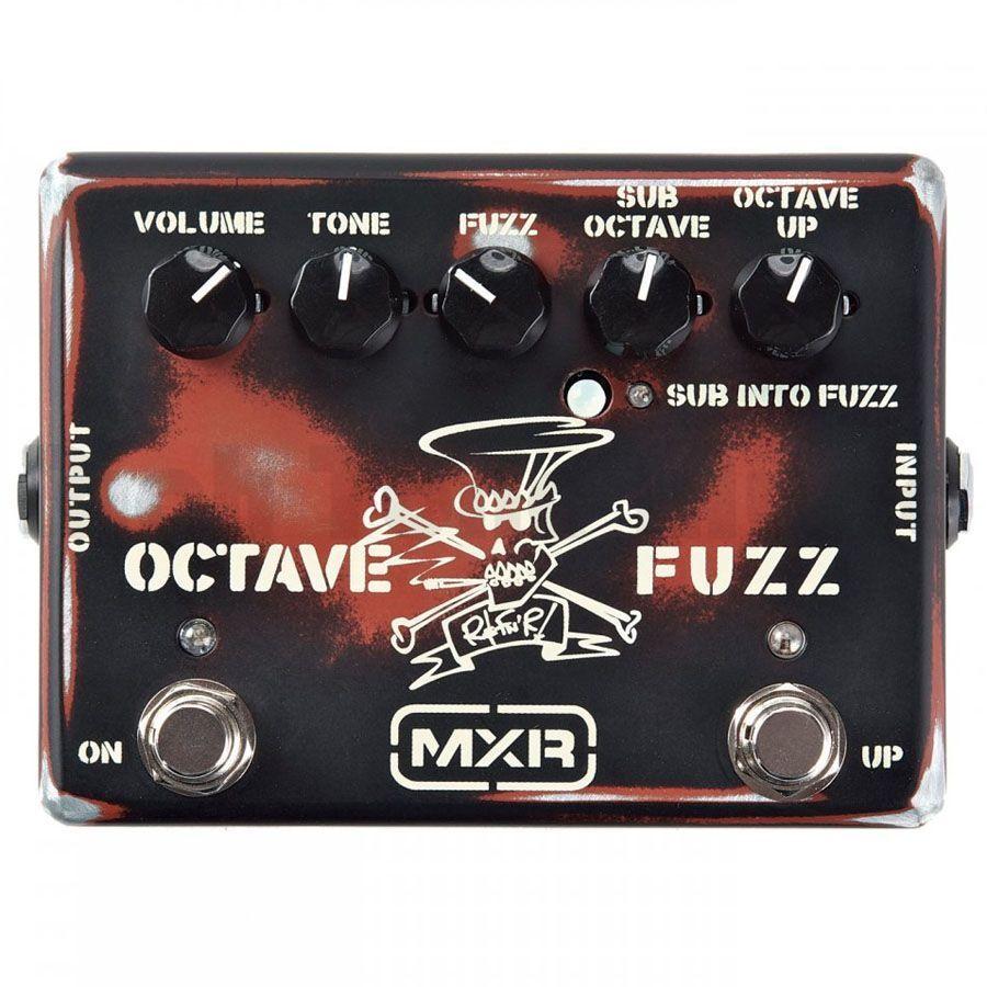 MXR SF01 Slash Octave Fuzz FX Pedal