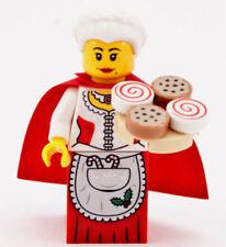 Figur Minifig Santa Holiday Weihnachten X-Mas 10245 Mrs Claus LEGO City