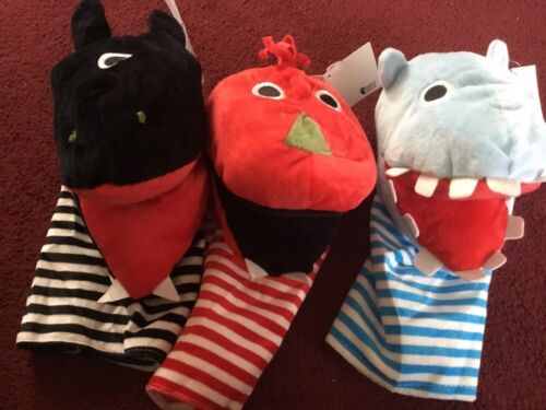 24 LARGE ANIMAL HAND PUPPETS MIXED EARLY LEARNING WHOLESALE JOB LOTS SCHOOL NEW