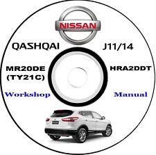 Workshop Manual,Manuale Officina Nissan Qashqai J11,anno 2014
