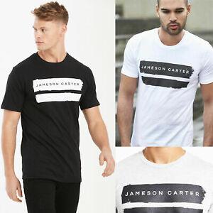 New-Mens-Jameson-Carter-King-Designer-Cotton-Crew-Fashion-T-Shirt-Tee-Casual-Gym
