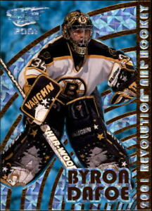 2000-01-Revolution-Boston-Bruins-Hockey-Card-10-Byron-Dafoe