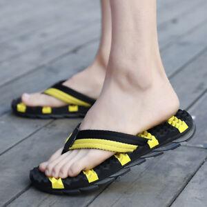 074634cfea8915 2018 Hot Summer Men s Beach Flip Flops Slippers Sandals Casual Shoes ...