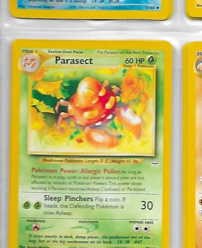 NM = Buy more and save! PARASECT 35//64 Neo Revelation Unlimited Pokemon