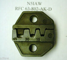 RFC Tool for Crimping 15/30/45 Amp Anderson Power Pole Type & Other Connectors
