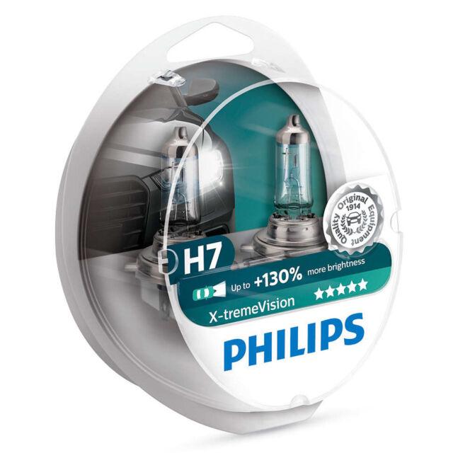 kQ Philips X-treme Vision +130% H7 Halogenlampe 12972XV+S2 2er-Set