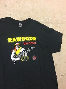 Dead Kennedys Rambozo The Clown T-shirt Never Worn Size XL Punk