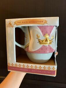 New-Mug-Disney-Minnie-The-Main-Attraction-King-Arthur-Carousel-Limited-Release