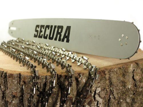 Schwert 3//8 passend Stihl 038 AV Super Magnum 50cm 4 Ketten