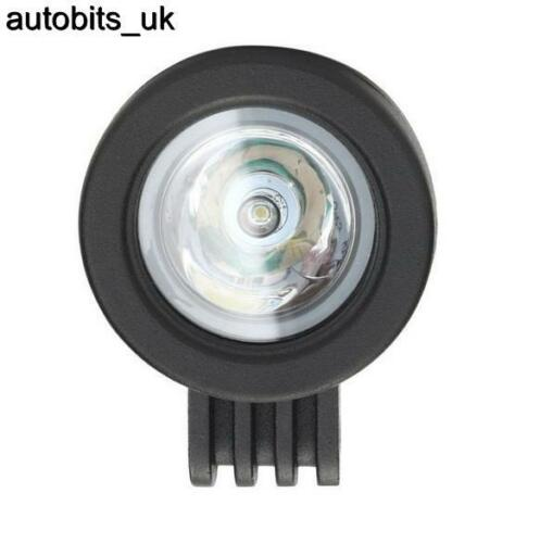 2 X 10W 10-30V LED WORK SPOT BEAM LAMPS NEW HOLLAND MASSEY FERGUSON JCB BOBCAT