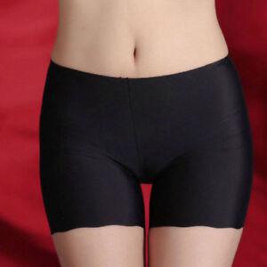 cf5f432b444e US Women Ladies Pants Safety Shorts Leggings Yoga Seamless Basic ...