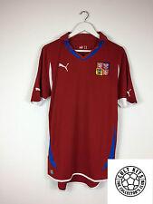 CZECH REPUBLIC 10/11 Home Football Shirt (M) Soccer Jersey Puma