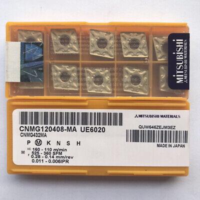 10pcs  MITSUBISHI CNMG120408-MA UE6020 CNMG432MA New Carbide Inserts