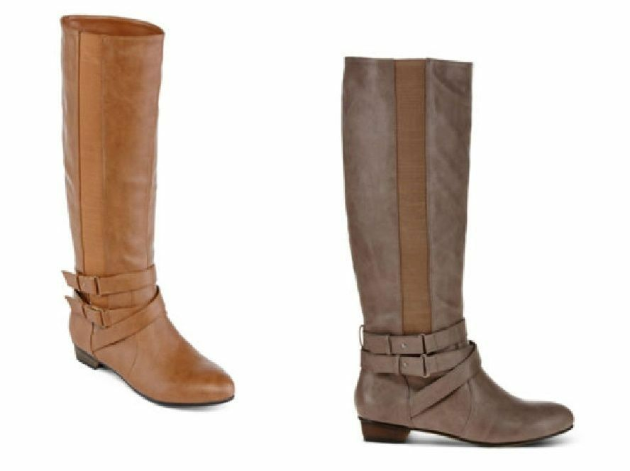 Olsenboye Womens Tall Boots Coleen Riding PU Textile size 6.5 10 NEW