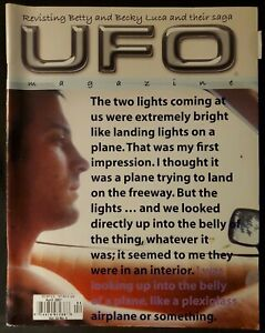 UFO Magazine Volume 22 Issue Number 4 April 2007 Betty And Becky Luca Saga Light