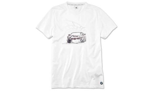 Original BMW Graphique T-Shirt Shirt bmw m1 grafikprint BMW logo Messieurs