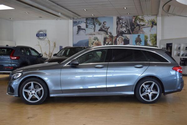 Mercedes C220 d 2,2 AMG Line stc. aut. - billede 1