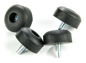 4 X Crybaby Wah Pedal Replacement Rubber Feet Amp Screws