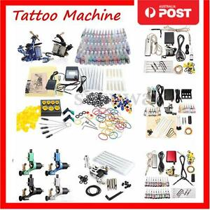 Complete-Tattoo-Kit-Tattoo-Machine-Guns-Set-Ink-Needles-Power-Supply-Grip-Tips