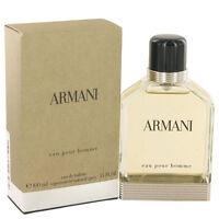 Armani Giorgio Armani Cologne Men Eau De Toilette Spray Fragrance New 3.4 oz