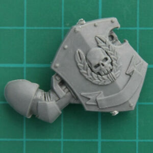 FidèLe Space Marines Escouade De Commandement Champion Plaque Bras Warhammer 40k Bitz