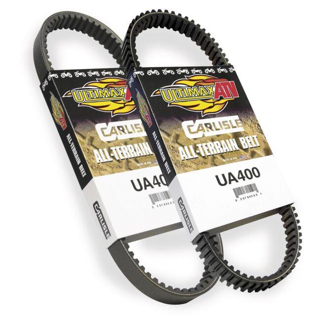 "UA437 CARLISLE /""Hypermax/"" ATV//UTV Drive Belts Suzuki 27601-31G00"