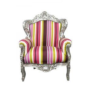 Htdeco-Fauteuil-baroque-multicolore