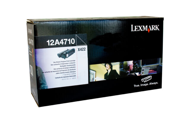 Original Lexmark Toner 12A4710 for X422 New