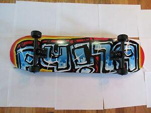 blind skateboard blue griptape with thunder trucks great ...