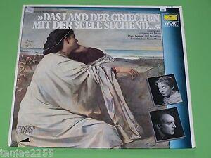 Goethe-Das-Land-der-Griechen-mit-der-Seele-Suchend-Quadflieg-DGG-Wort-LP