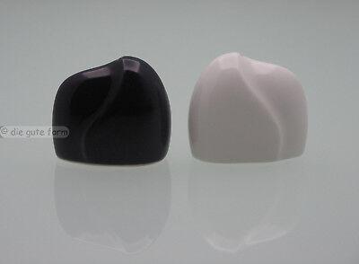 Arabia Finland ... Design Kaj Franck ... 2 Streuer Porzellan .. Schwarz Und Weiß Eine GroßE Auswahl An Waren