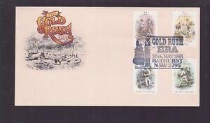 1981-Gold-Rush-Era-by-Artist-Gill-1818-1880-Australia-FDC-M-992-Bathurst