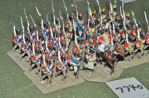 25mm-napoleonic-swiss-infantry-36-figs-metal-painted-inf-7740