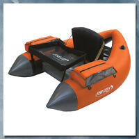 Outcast Fish Cat 4 Deluxe Float Tube, Orange - Low International Shipping Rates