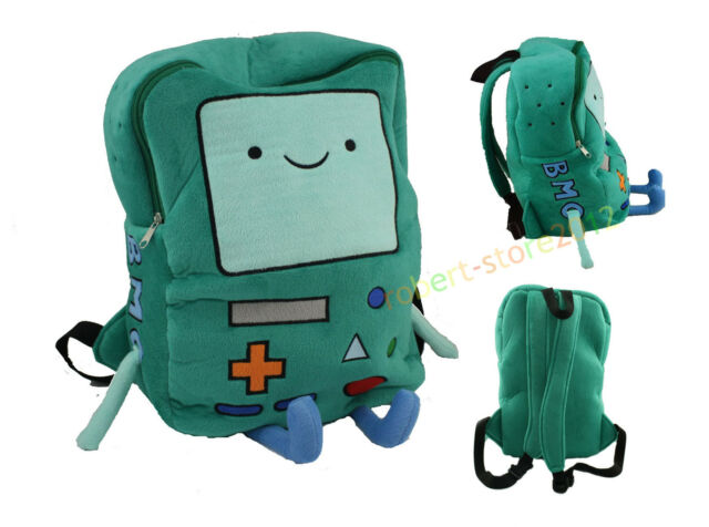 """Adventure Time Plush Deluxe BMO Beemo Backpack Game 11""""Xmas Children Bag Gift"""