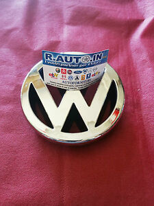 VW-GOLF-4-1997-gt-2003-FREGIO-SIGLA-Badge-EMBLEM-CROMATO-POSTERIORE