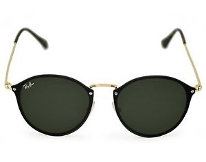 Ray-Ban RB3574N Blaze Round 001 71 Gold Frame Green Classic Lenses ... 2f1d8849aa